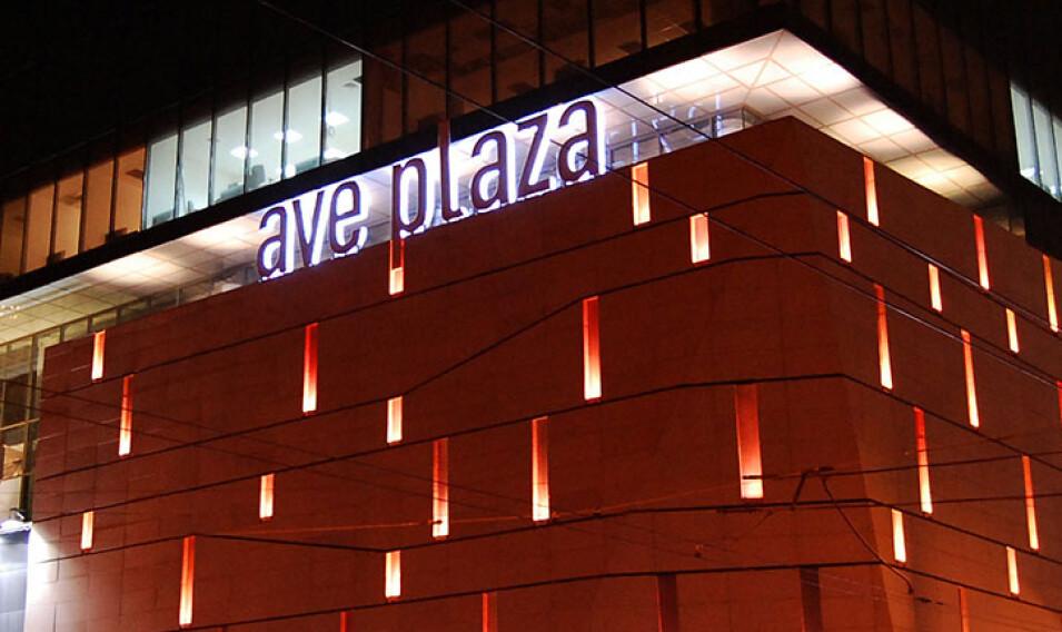 Объёмные буквы из камня AVE PLAZA