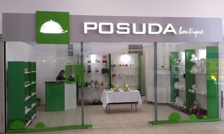 Объёмные буквы POSUDA для магазина