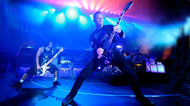 Концерт Metallica. Просто прикольная фотка :)
