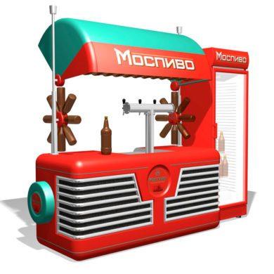 Киоск по продаже пива Моспиво