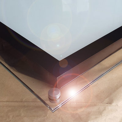 LED панель стекло light