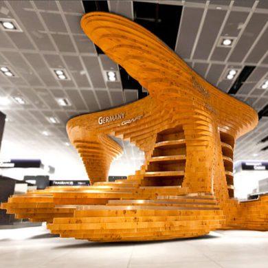 Выставочный стенд Germany Graft