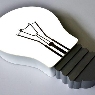 Светильник лампа из акрила