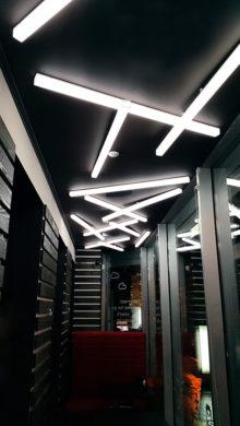 Светильники на потолке