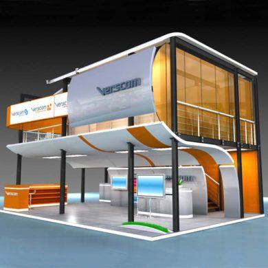 Создание выставочного стенда verscom