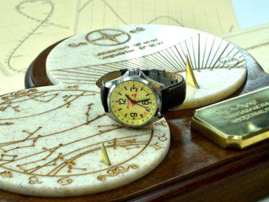 Солнечные часы аналоговые