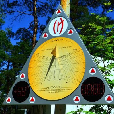 Солнечные часы круглые