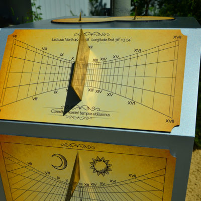 Солнечные часы под углом