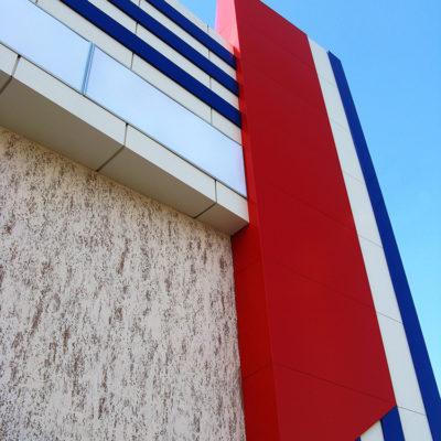 Облицовка фасада композитом