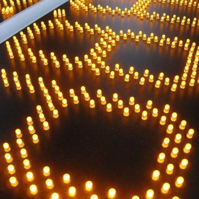 Светодиодная подсветка табло