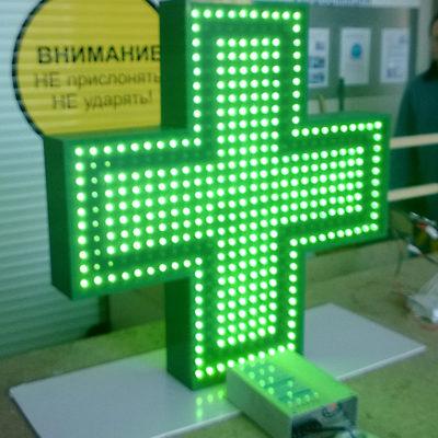 Светодиодный крест для аптек