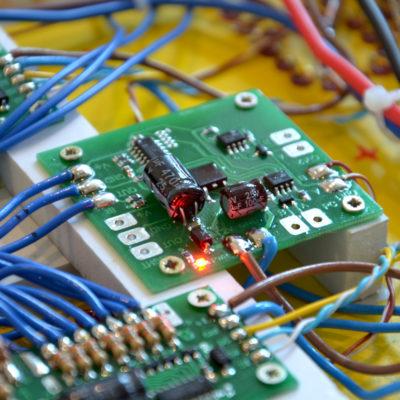 Микросхема светового табло