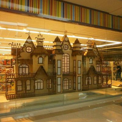 Выставочный макет замка