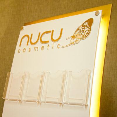 Рекламный стенд Nucu cosmetic