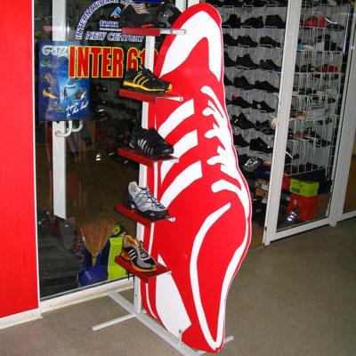 Нестандартная стойка для обуви