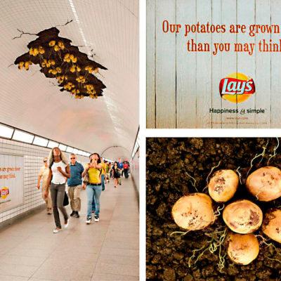 Креативная реклама чипсов
