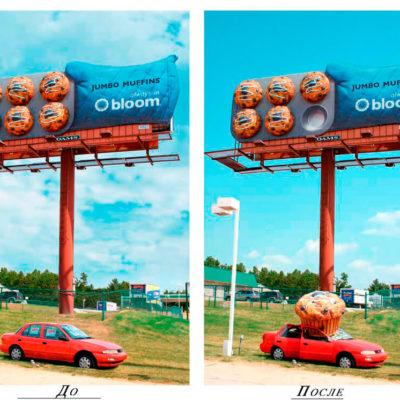 Креативная реклама кексов