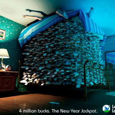 Креативная реклама лотереи