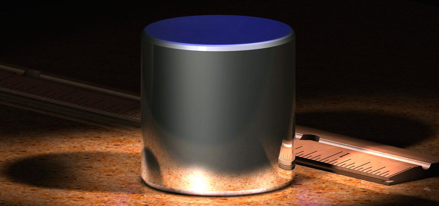 """""""Идеальный килограмм"""" - цилиндр из иридия весом ровно 1 кг"""