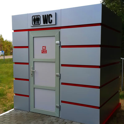 Современная облицовка туалета
