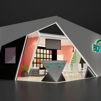 Выставочный стенд BIOPLAST