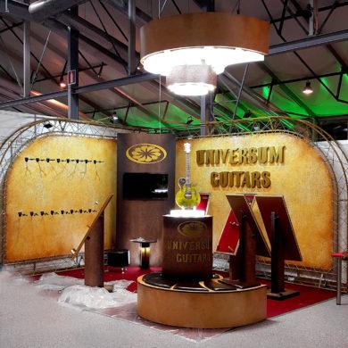 Выставочный стенд UNIVERSUM GUITARS