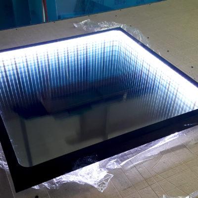 Зеркало с лед подсветкой Бесконечность