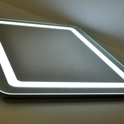 Зеркало с лед подсветкой округлое