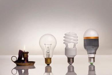 Эволюция освещения до LED-лампы