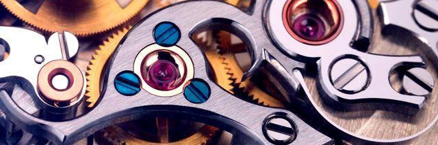 Часовой механизм фото
