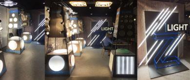Выставочный стенд с лед подсветкой