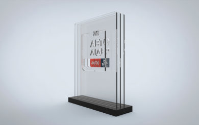 Дизайн наград Авто Лидер 2018