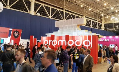 Выставочный стенд promodo в помещении