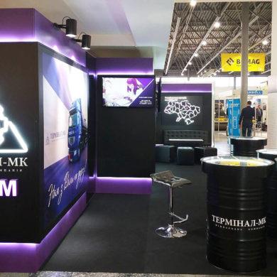 Выставочный стенд Терминал-МК в интерьере